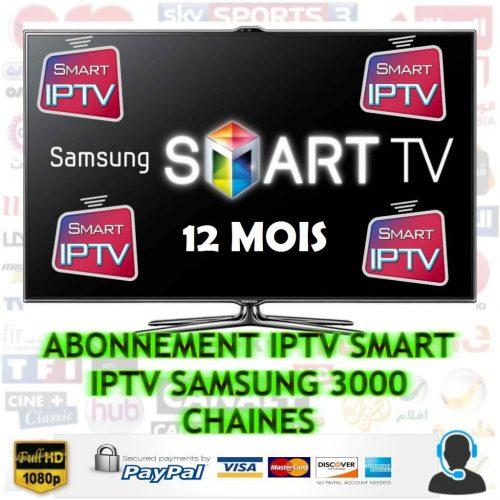 abonnement iptv samsung smart tv