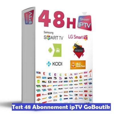 test iptv 48 heures
