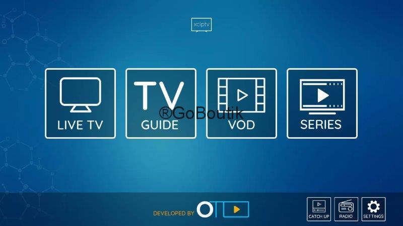 configurer iptv xciptv player