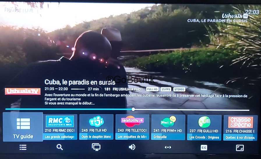Tivimate-iptv-player-Channel-Ushuaia-EPG
